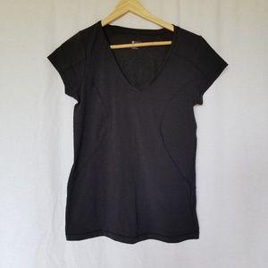 New Zella black exercise tee shirt size medium.